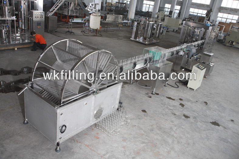 XP series Automatic bottle rinser /glass bottle washer