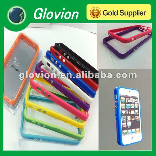 Hot sale new bumpers for Iphone5 red bumpers for Iphone5 attractive bumpers