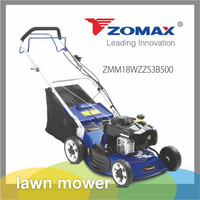 Grass trimmer 18inch 3in1 self-propelled lawn mower with 4HP engine and gear box