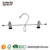 (PVCH013) Cheap Price Black Color PVC Coated Metal Pants Hanger