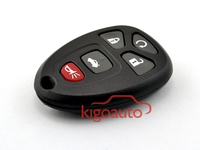 Replacement key shell KOBGT04A 5button remote fob case for Gm