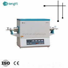 1600c Sintering Lab Oven High Temperature Electric Vacuum Tube Furnace with Alundum Tube upto 1600c