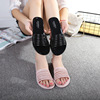 ZH1439F 2017 Summer Women Soft Sole Beach Sandals Slippers Flat Casual Shoes