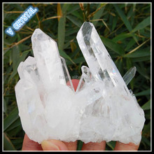 Natural Raw Rock Quartz Cluster Minerals Wholesale For Decoration