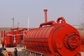 10Sets Selling Last Month D2600*L6600 Waste Tyre Crude Oil Refinery For Sale