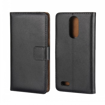 Mobile Phone Accessories Pouch Bag Book Flip Stand Leather Wallet Cover Case for LG K8 2017 Flip Etui Funda Capa Para