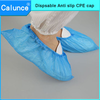 Disposable Waterproof anti Skid CPE shoes cover plastic shoes cover