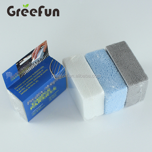 Hot Selling Disposable High Density Foam Glass Pumice Cleaning Stone Sponge For BBQ Grill Toilet Bowl Bathroom Kitchen