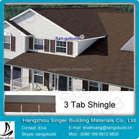 Export Roof Tile- Asphalt Shingles for South America/Chile/Brazil/Venezuela/Argentina/Guyana