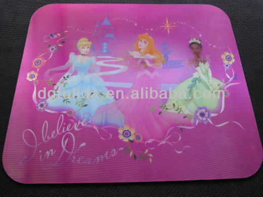 New year promotional gift PVC surface rubber or EVA base mouse pad/mat