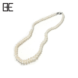 BE Fashion Jewelry New Design Hand Made White Natural Shell Beads Jewellery Necklace