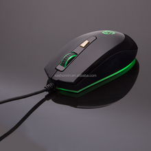 Professional magic black and white 4 Buttons wired gaming mouse