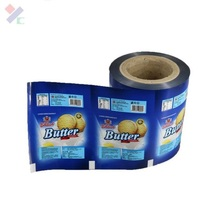 cake roll film for packing , child food plastic package rolls film, packaging film for food