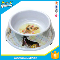 Fancy Design Melamine Dog Bowl
