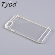 Crystal Transparent Anti-slip Edge TPU+Acrylic Hybrid PC Cover For iPhone 7 Case