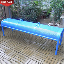 Modern Patio Benches Cast Iron Chair Metal Garden Outdoor Park Bench