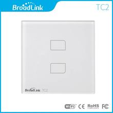 Broadlink TC2 two touch button wireless remote power switch 230v for smart lify