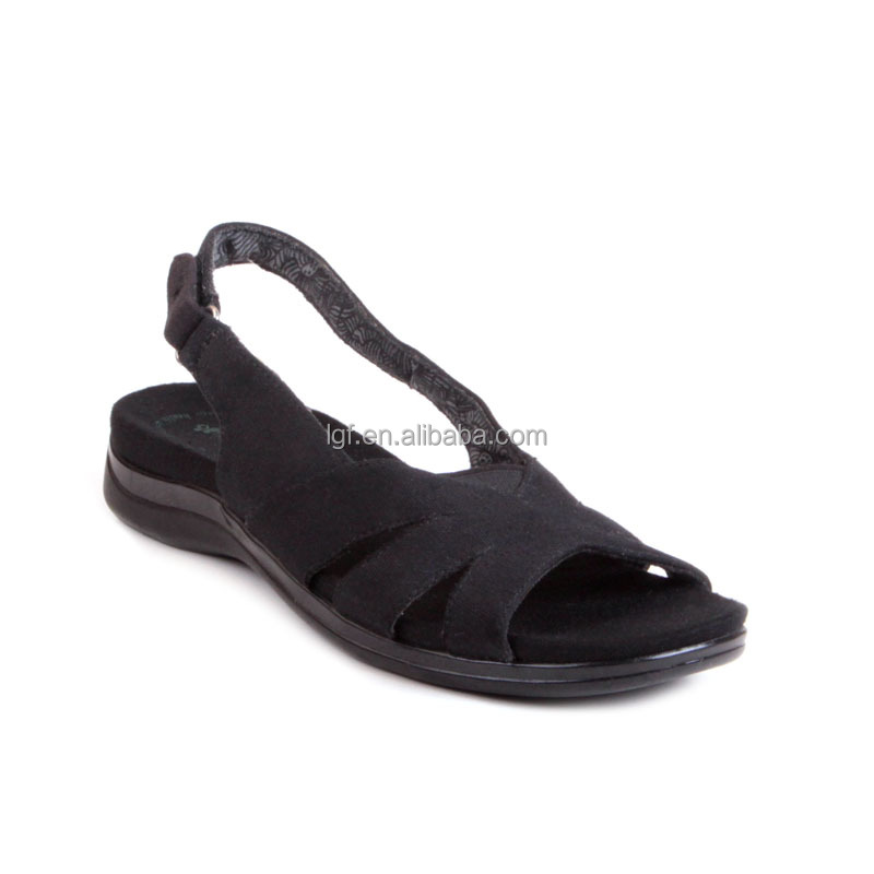 hot selling fashion soft PU/PVC outsole banded beach sandals stylo shoes in sandals