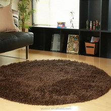 Competitive price best selling belgium chinese round silk rugs