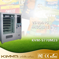 Touch Screen Cell Phone Accessory Vending Machine Operated By Android