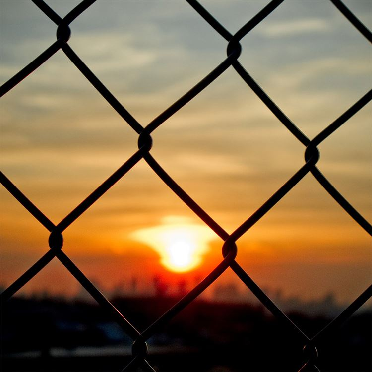 pvc chain link fence galvanzied prices for sale