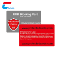 Custom design printing Wallet protector RFID blocking card