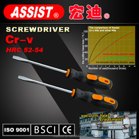 PHILLIPS CRV screwdriver with TPR+PP handle comfortable screwdriver