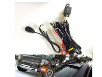 Universal Wiring Kit Fog Light Driving Lamps Wiring Harness +Fuse +Switch +Relay