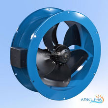 European exhaust local fan for coal mine with certificate RING-VF