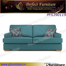 PFS390119 living room 3 seater, 2 seater upholstered sofa wooden sofa