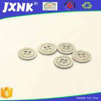 zinc alloy engraving clothing buttons for metl hole
