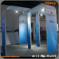 exhibition display stand design/tradeshow booth display