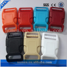 "25mm,1"" colored side release plastic back pack buckles"