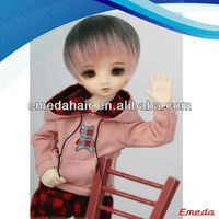 Japan fashion 18 inch doll wig, lovely blonde doll hair wigs