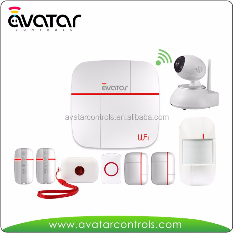 Smart Home Automation System Wifi Home Alarm System