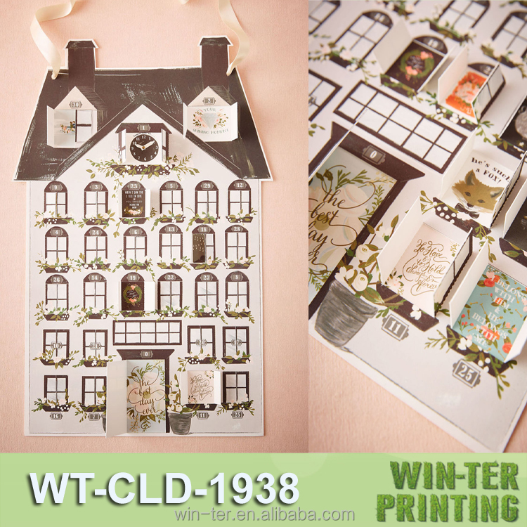 WT-CLD-1938 Printed christmas personalised advent calendar