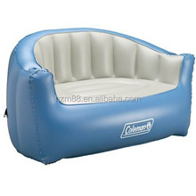 Comfortable Hot Selling Inflatable PVC Sofa Inflatable Sofa Blue Free Shipping