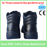 SF705 high heel steel toe formal good looking safety shoes