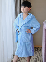Sex products heavy organic cotton velour bath robe for kids