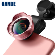 Portable Detachable 3 in 1 0.45X Wide Angle Lens with Macro Lens For Mobile Phone External Camera