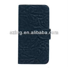 Newest Leather Cards Holder Case For Iphone 5 With Fashional Stand Wallet