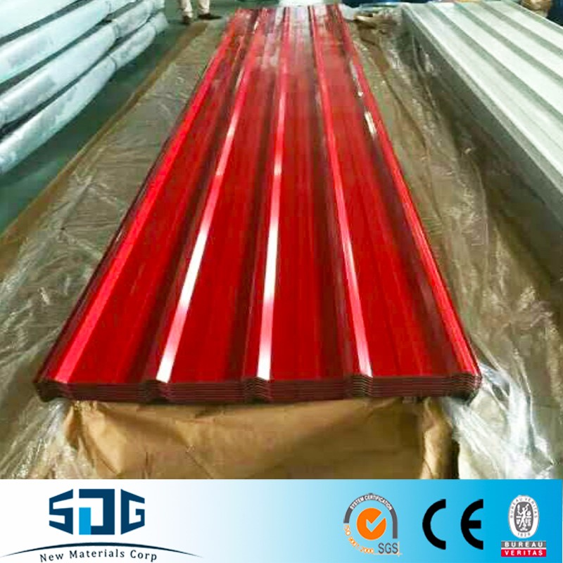 color coated prepainted roofing sheets CGI good price per sheet/export to Barbados