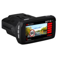 2017 Hotsale Ambarella A7 1296P Anti Police Radar Detector with Car DVR Camera