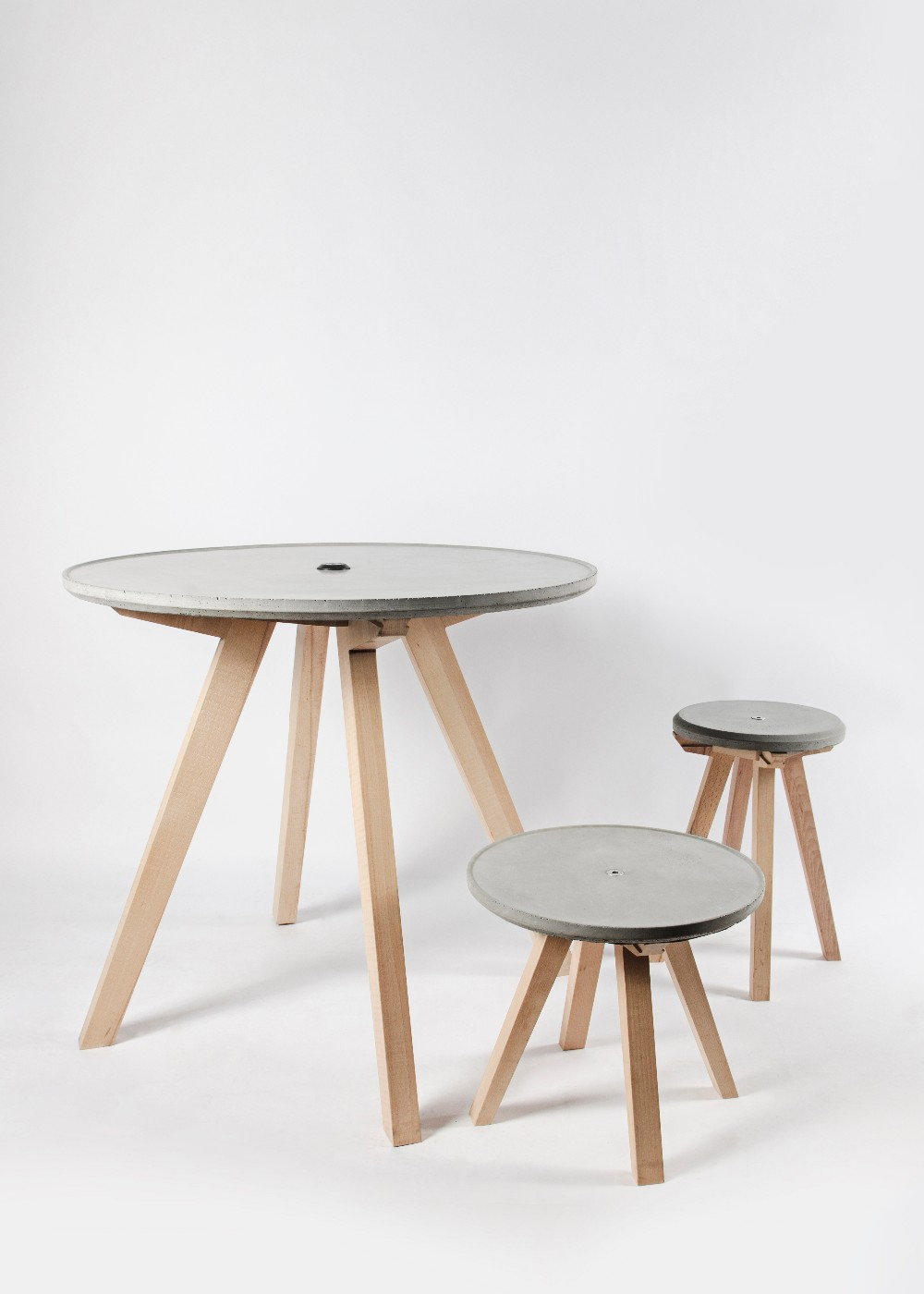 BU Cement side table