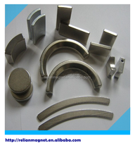 China supplier make permanent strong Custom neodymium industrial rare earth electri electro super half ring magnet