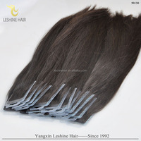 Hot Selling 8-30 inch Straight Cheap Tape Human Hair Extensions Wholesale