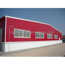 easy to build prefab steel structure warehouse/workshop in 2015