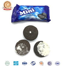 Vanila flavor wafer sandwich cookies cream biscuit and chocolate