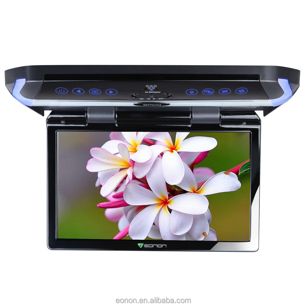 EONON L0147Z 11.6 Inch Digital Screen Ultra-thin Design In-Car Flip Down Monitor with Built-in Air Purification Function