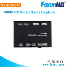 Foxun best buy H.264 encoding game capture support play computer games together